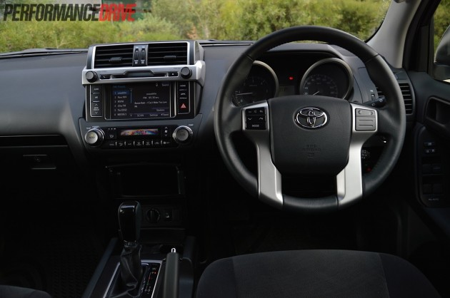 2014 Toyota Prado GXL dash
