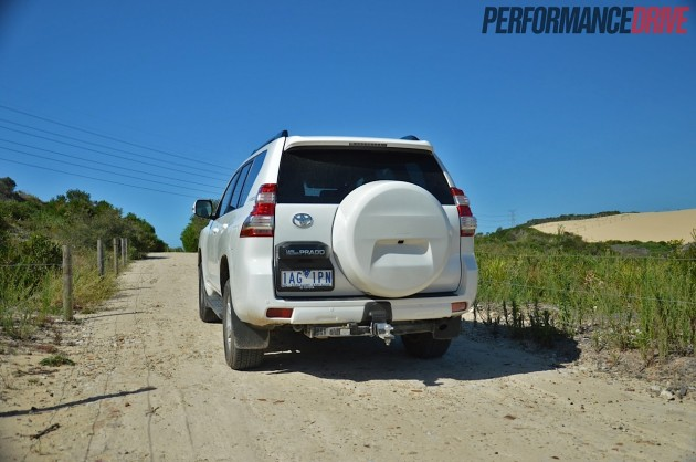 2014 Toyota Prado GXL rear