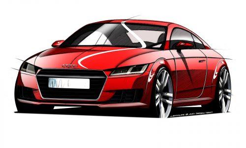 2015 Audi TT sketches reveal all-new model