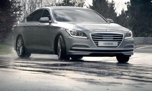 2015 Hyundai Genesis; developed on the Nurburgring