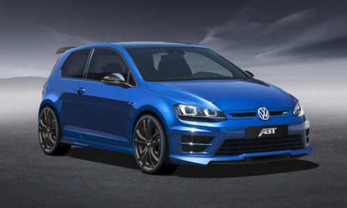 ABT tunes the bejesus out of the Mk7 VW Golf R