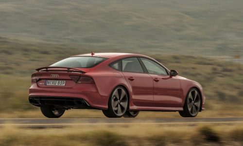 Audi RS 7 Sportback on sale in Australia from $238,500