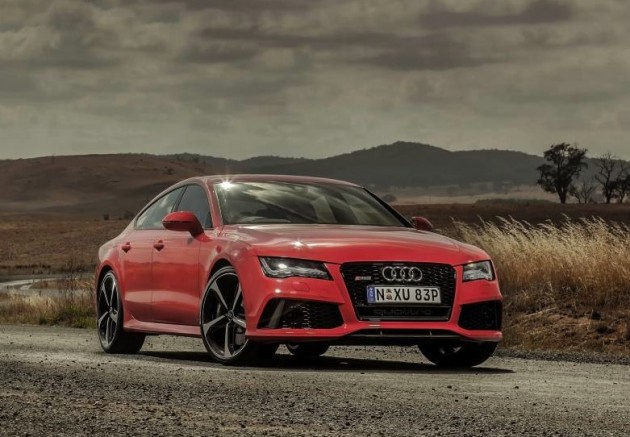Audi RS 7 Sportback-red