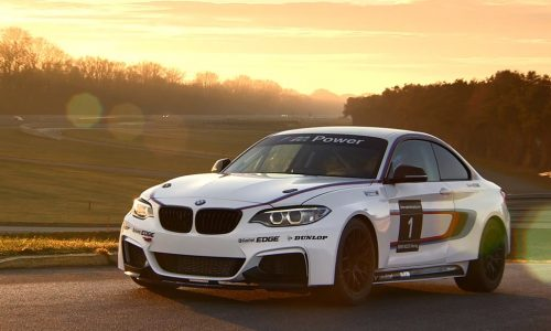 BMW M235i Racing hits the track