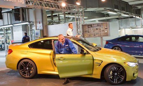 BMW M4 production now underway