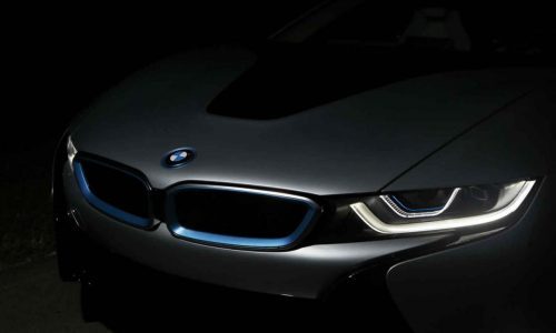 BMW i8 available with laser headlights, world first