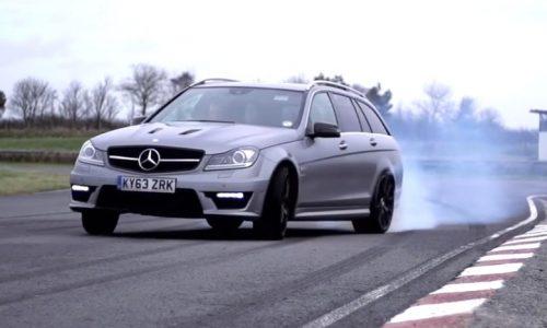 Chris Harris says goodbye to the Mercedes C 63 AMG