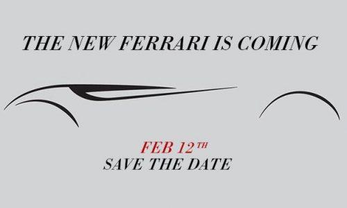 Ferrari 149M Project teaser #2, debuts Feb 12