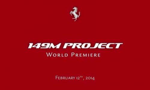 Ferrari '149M Project' coming, new California?