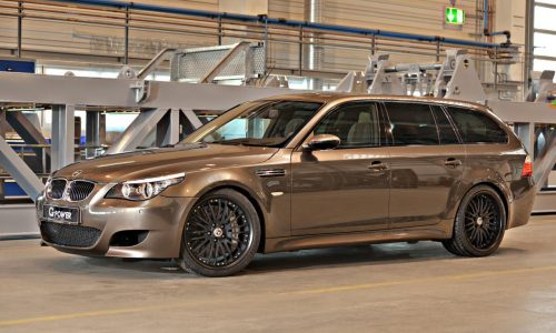 G-Power M5 Hurrican RR Touring updated, now with 603kW