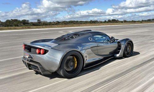 Hennessey Venom GT is unofficially world's fastest car