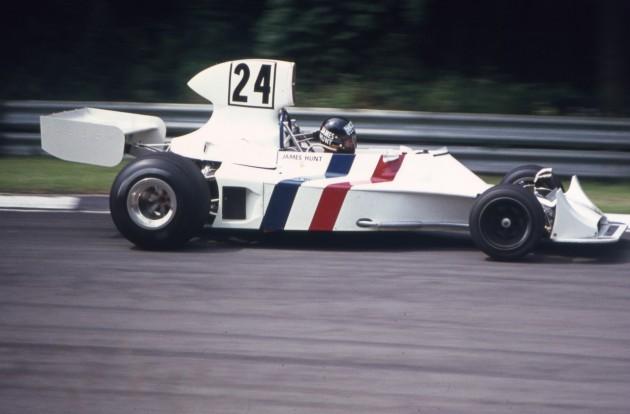 James Hunt 1974 Hesketh F1