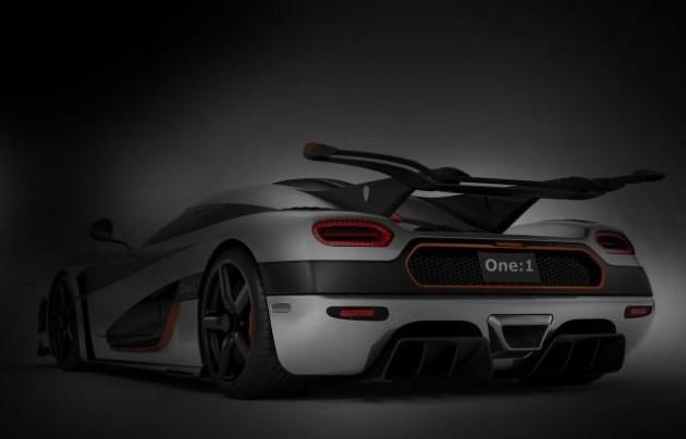 Koenigsegg One-1 teaser