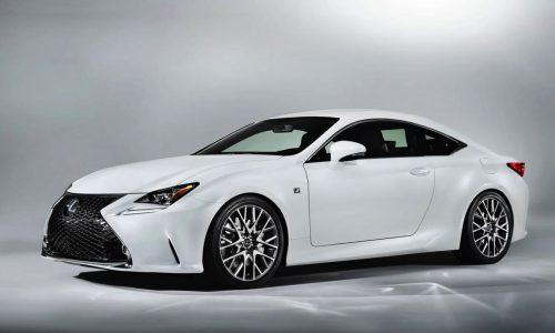 Lexus RC 350 F Sport revealed, gets rear-wheel steering