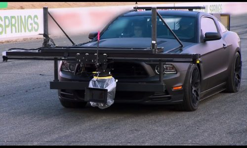Need for Speed film uses Ford Mustang camera car (video)