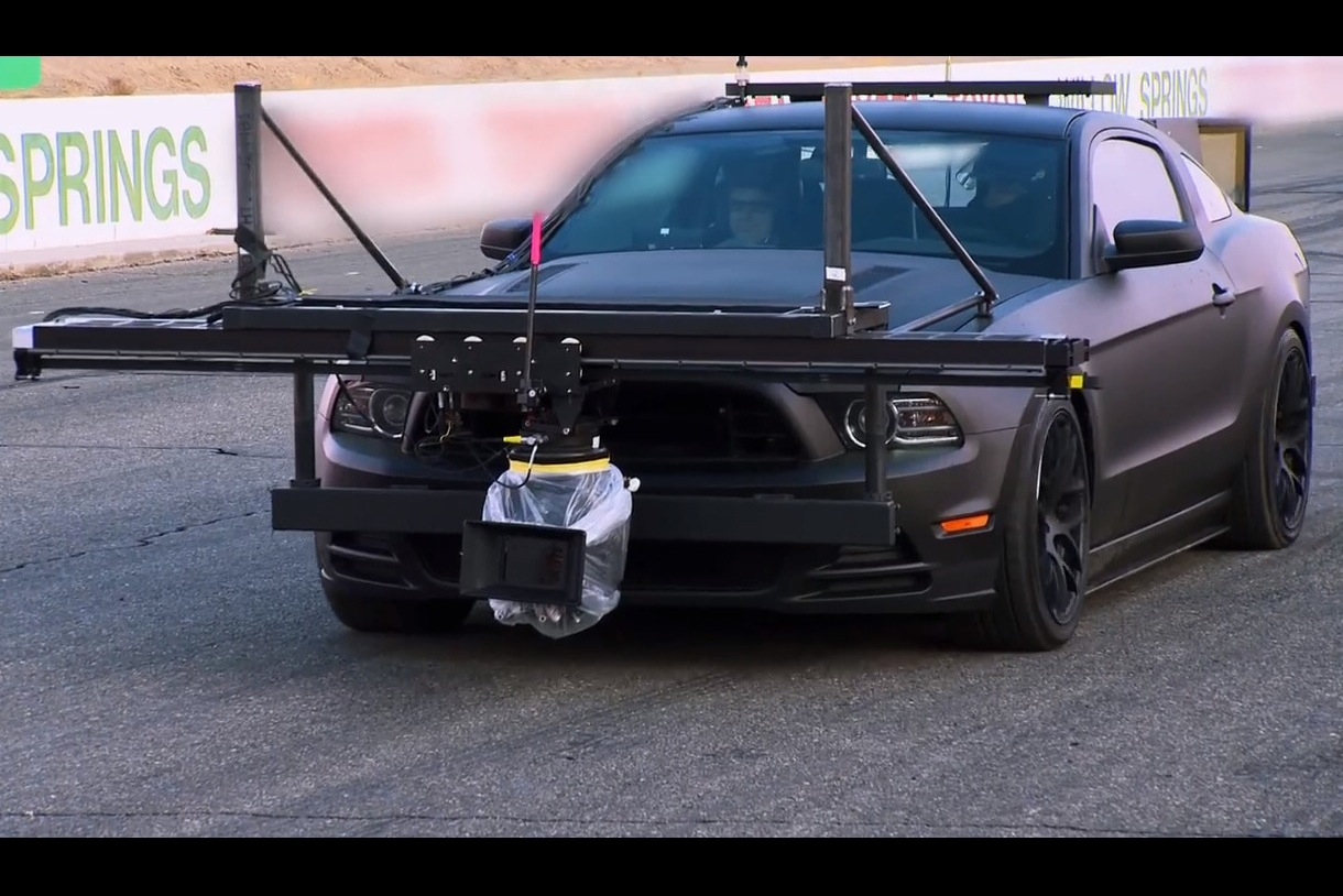 Need For Speed Film Uses Ford Mustang Camera Car Video