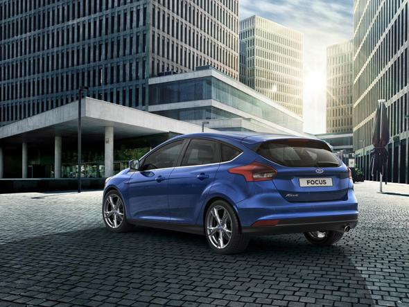 New 2014 Ford Focus-rear