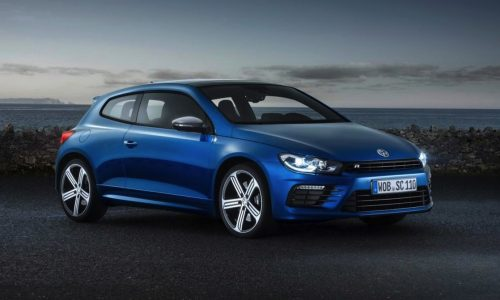 Facelifted 2014 Volkswagen Scirocco revealed