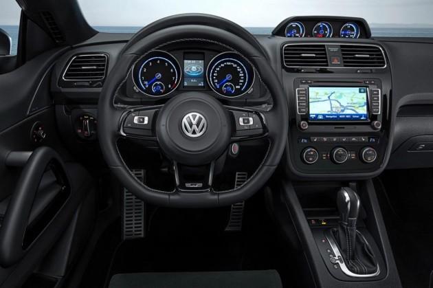 New 2014 Volkswagen Scirocco R-dash