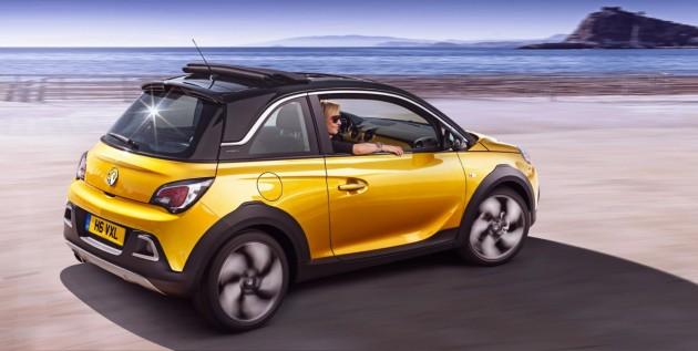 Opel Adam Rocks Revealed Funky Compact Crossover