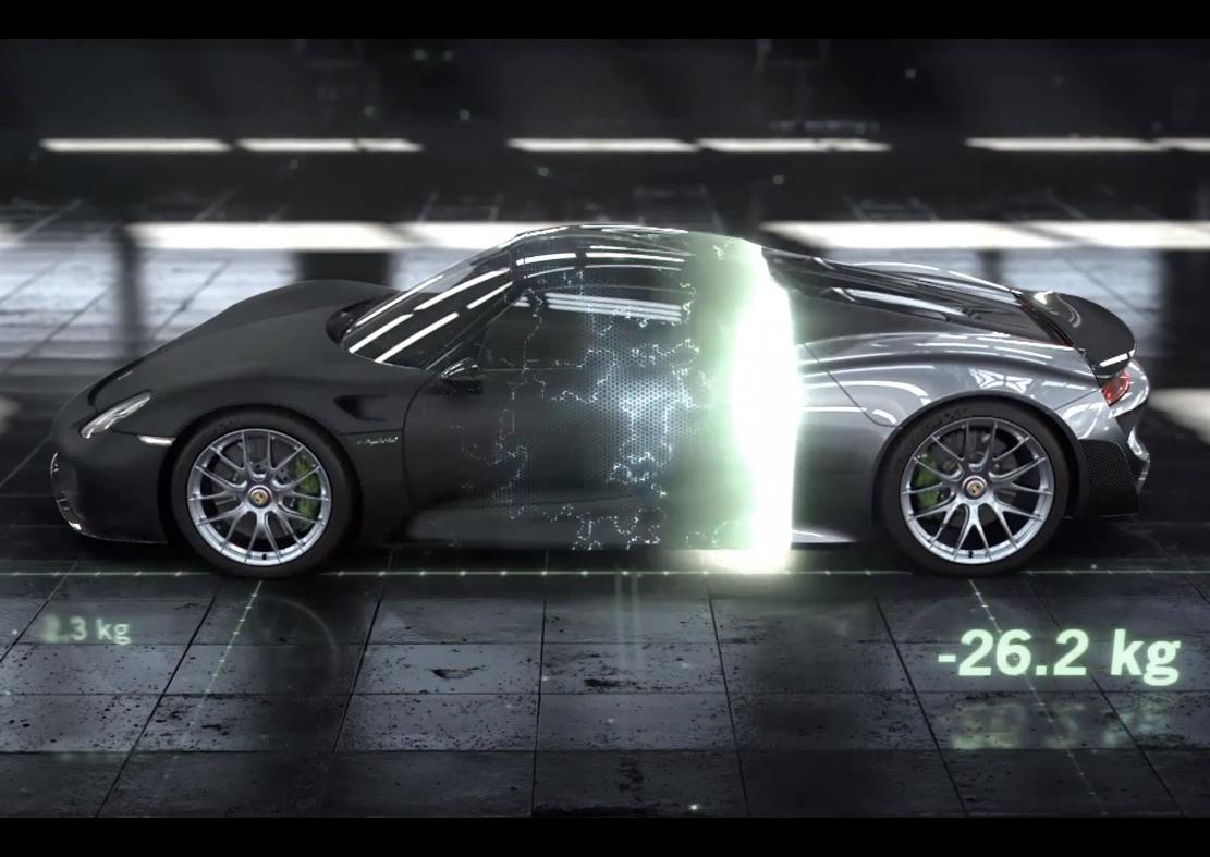Porsche 918 Spyder 'Weissach' package explained