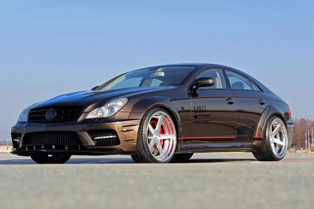 Prior Design Mercedes-Benz CLS brown grizzly