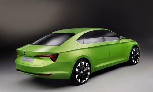 Skoda VisionC concept previews new four-door coupe