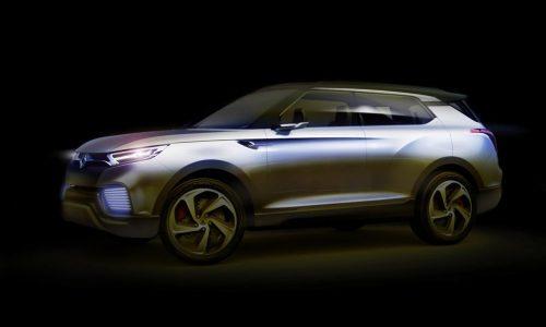 SsangYong XLV concept previews hybrid diesel tech
