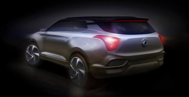 SsangYong XLV concept-rear
