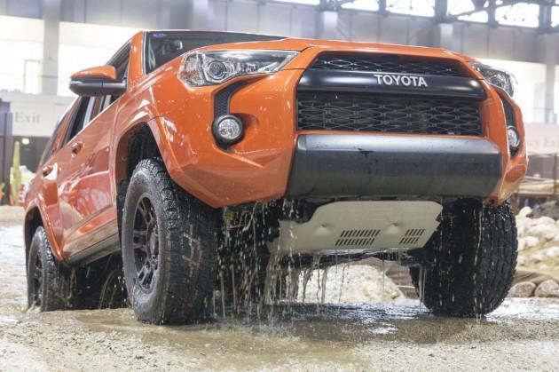 Toyota 4Runner TRD Pro-skid plate