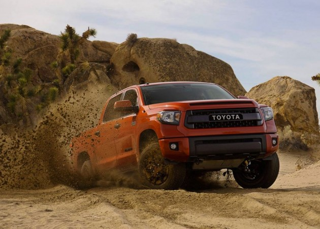 Toyota Tundra TRD Pro-wet sand