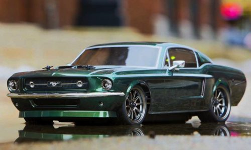 Awesomely detailed 1967 Ford Mustang R/C car