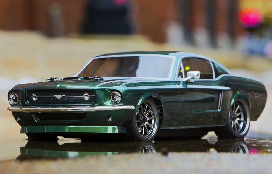 Awesomely Detailed 1967 Ford Mustang R C Car