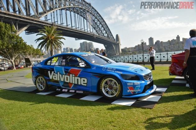 Volvo V8 Supercar unveiling Sydney Harbour-2
