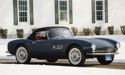 Rare 1958 BMW 507 Roadster fetches record $2.63M