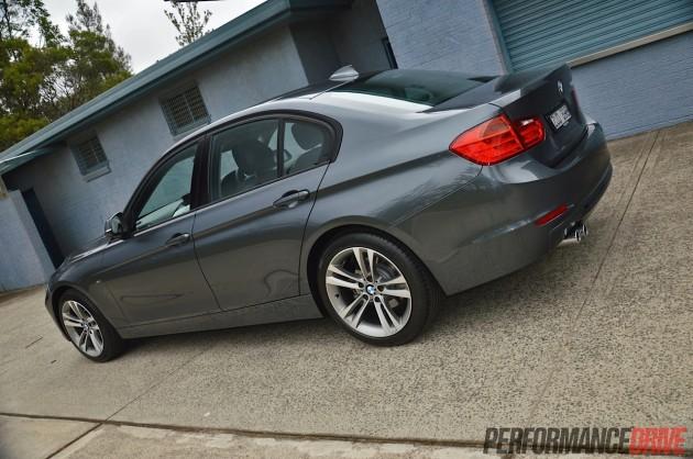 2014 BMW 328i Sport Line-rear