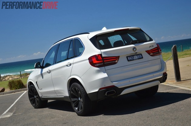 2014 BMW X5 xDrive50i-rear