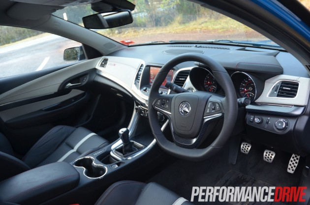 2014 Holden VF Commodore SS V Redline Ute interior