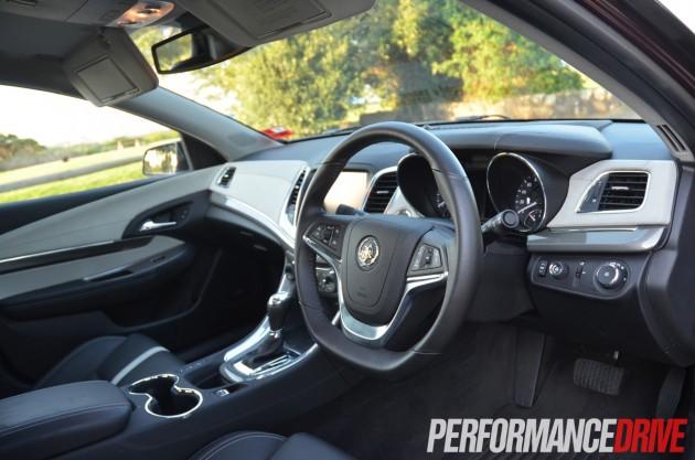 2014 Holden WN Caprice V V8 driving position