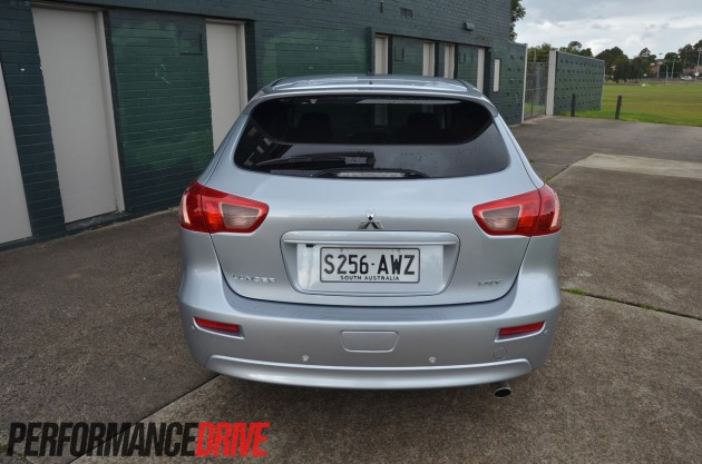 2014 Mitsubishi Lancer Sportback VRX rear