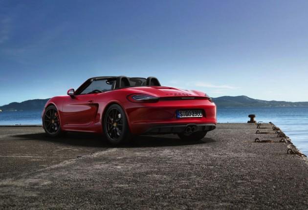 2014 Porsche Boxster GTS-rear
