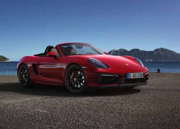 2014 Porsche Boxster GTS-red