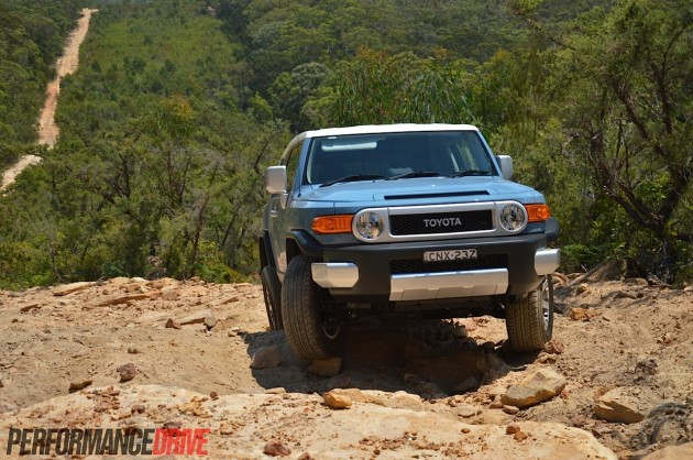2014 Toyota FJ Cruiser-Australia