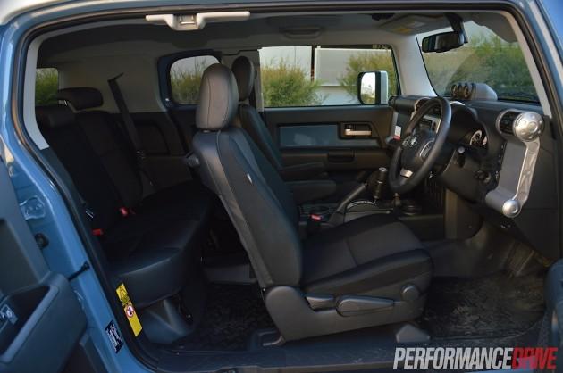 2014 Toyota FJ Cruiser-interior
