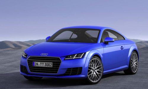 2015 Audi TT revealed; lighter, more powerful