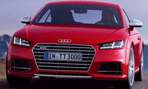 Is this the new 2015 Audi TT S sports model?