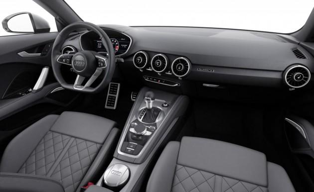 2015 Audi TT-cabin