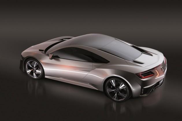 2015 Honda NSX prototype-rear