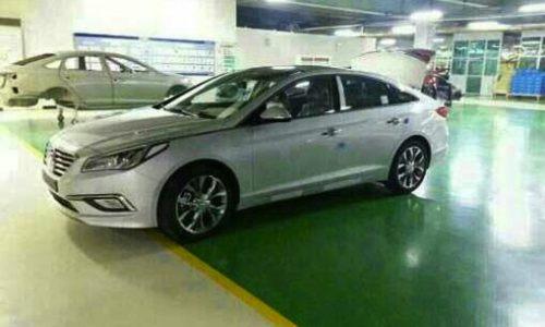 2015 Hyundai Sonata spotted in production form