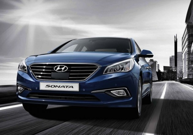 2015 Hyundai Sonata front grille